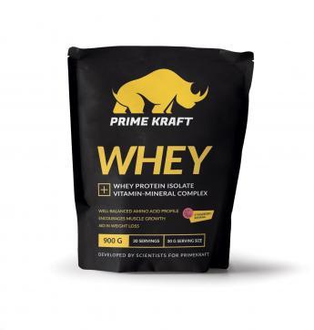 Протеин prime craft whey клубника банан 900 г