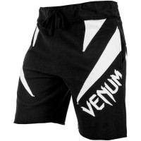 Шорты venum jaws cotton shorts - black white