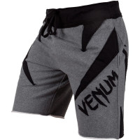 Шорты Venum Jaws Cotton Shorts - Grey Black