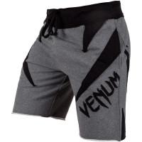 Шорты venum jaws cotton shorts - grey black