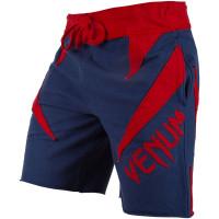 Шорты venum jaws cotton shorts - navy blue