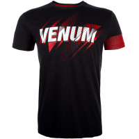 Футболка venum rapid t-shirt - black red