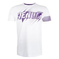 Футболка Venum Rapid T-shirt - White Purple