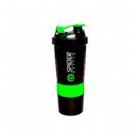 Шейкер Spider Bottle Shaker (600 мл) Black green