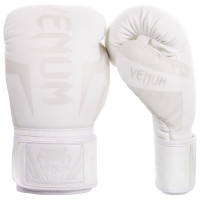 Перчатки боксерские Venum Elite Boxing Gloves - White/White