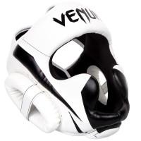 Шлем боксерский Venum Elite White/Black