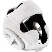 Шлем боксерский Venum Elite White/White