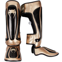 Защита ног venum predator standup shinguards - black/gold