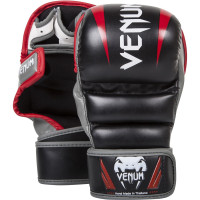 Перчатки ММА Venum Elite MMA Gloves - Black