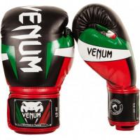 Перчатки боксерские Venum Elite Italy Black