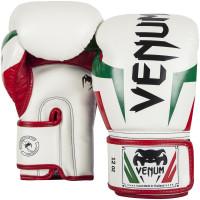 Перчатки боксерские venum elite italy ice