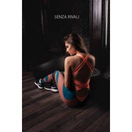 Комбинезон для фитнеса senza rivali glam
