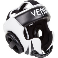 Шлем боксерский venum challenger 2.0 headgear - hook & loop strap - black/ice