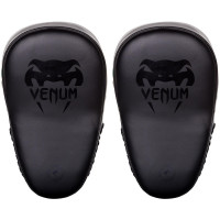Тренерские лапы venum elite big focus mitts black/black