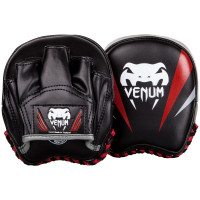 Лапы Venum Elite Mini Punch Mitts Black
