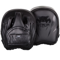 Лапы Venum Elite Mini Punch Mitts Black/Black