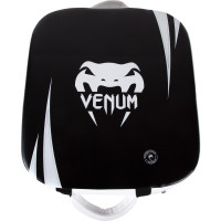 Макивара Venum Absolute Square Kick Shield - Skintex Leather - Black/Ice