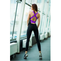 Комбинезон designed for fitness black n lavender