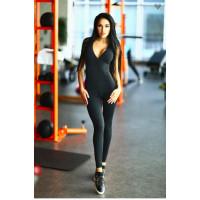 Комбинезон designed for fitness black n lavender