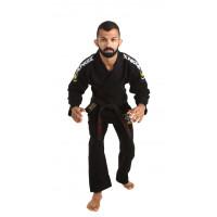 Кимоно для бжж kingz basic 2.0 jiu jitsu gi - black