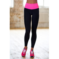 Лосины designed for fitness pink high waist