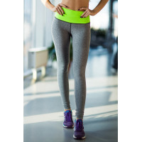 Лосины designed for fitness pro hight waist green