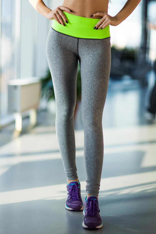 Лосины designed for fitness pro hight waist green