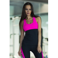 Спортивный топ designed for fitness basic pink long