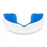 Капа боксерская venum challenger - white/blue