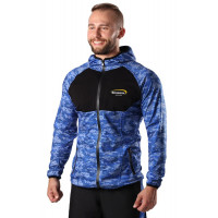 Худи berserk evolution fit blue