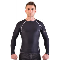 Рашгард для mma berserk legacy long sleeve black/white