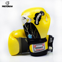 Боксерские перчатки Pretorian kids yellow