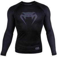 Рашгард venum contender 3.0 long sleeves - black/white