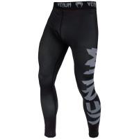 Компрессионные штаны venum giant spats - black/grey