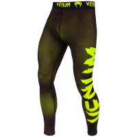 Спортивные штаны venum giant spats - black/yellow