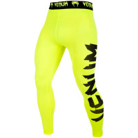 Спортивные штаны venum giant spats - yellow/black