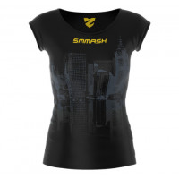 Рашгард woman short smmash cross wear pride