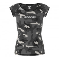 Рашгард woman short smmash cross wear camo