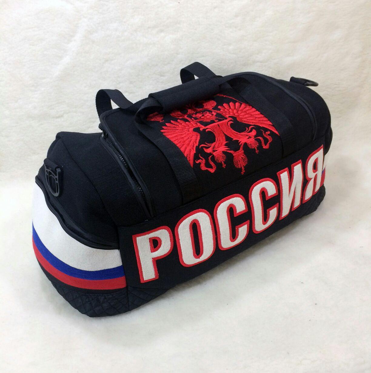 Сумка спортивная россия царина