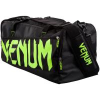 Сумка venum sparring sport bag - black/neo yellow