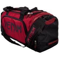Сумка venum trainer lite sport bag - red