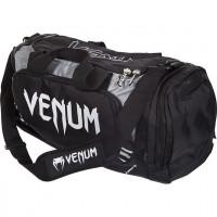 Сумка venum trainer lite sport bag - black/grey