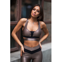 Спортивный топ designed for fitness Disco Nude