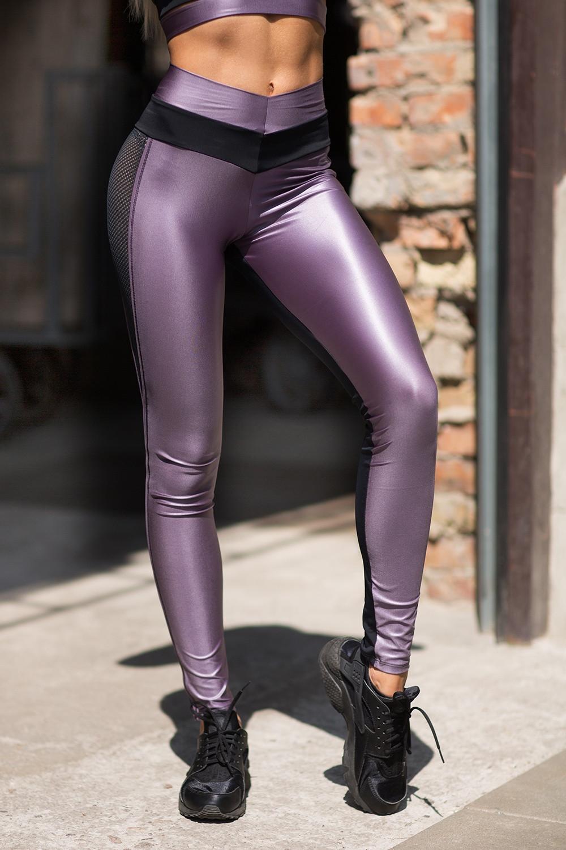 Лосины designed for fitness pro Disco Violet