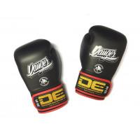 Боксеркие перчатки danger contact pro black/red