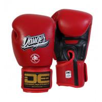 Боксеркие перчатки danger super max red/black