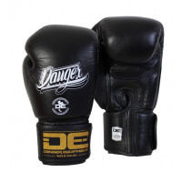 Боксерские перчатки danger super max black