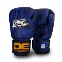 Боксерские перчатки danger army edition blue