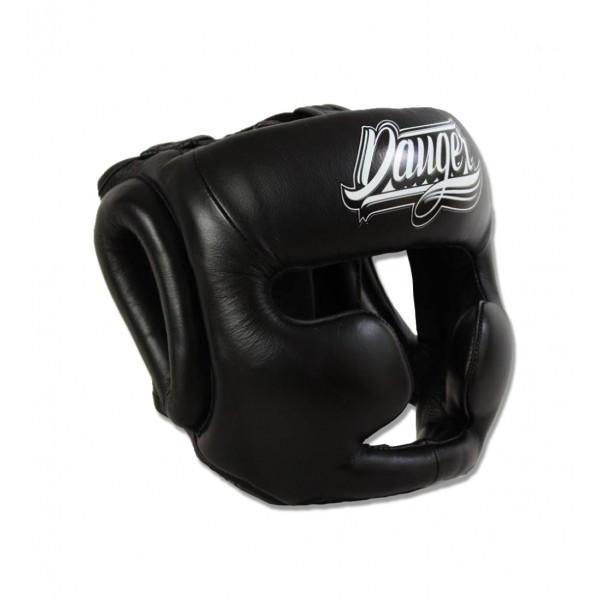 Шлем боксерский danger classic thai black