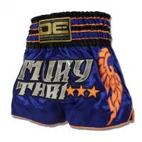 Шорты для тайского бокса danger exclusive blue